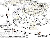 La futura Ronda Sur de Badajoz