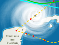 El huracan Wilma