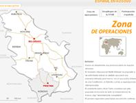 Tropas españolas en Kosovo