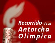 Recorrido de la antorcha olímpica