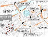 Cámaras de tráfico en Badajoz