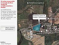 Futuro emplazamiento del Centro Comercial en la Avd de Elvas