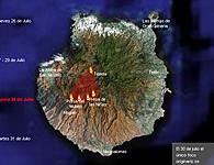 Desastre ecológico en Canarias